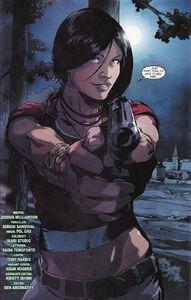 Chloe in comic