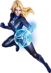 Invisible Woman Marvel Super War