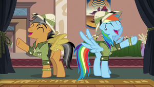 """Rainbow and Quibble """"awesomest thing ever!"""" S6E13"""