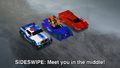 Sideswipe, Thermidor, Tricerashot and Strongarm