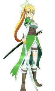 Yzzz Sword Art Online Leafa Hyper Kakoii ALO Render