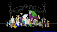 Cartoon Network 20th Anniversary Party Groups