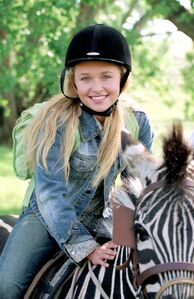 Hayden Panettiere as Channing Walsh in Racing Stripres - 2005