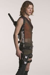 Alice in the 2nd Resident Evil film