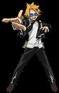Denki Kaminari 2nd Hero Costume Action