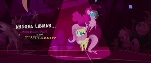Pinkie Pie Dancing Around Fluttershy