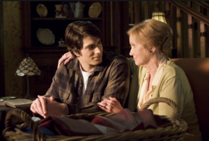 Clark discusses his memories with Martha