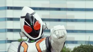 Fourze in Legend Rider Stage