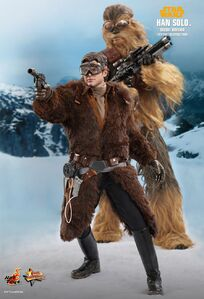 Hot-toys Han Solo and Chewie SOLO