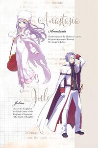 ReZero Volume 4 Anastasia & Julius Description