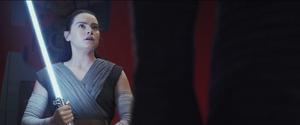 Rey surprised The Last Jedi