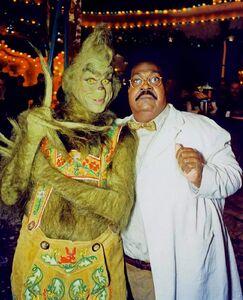 The Grinch and Professor Sherman Klump