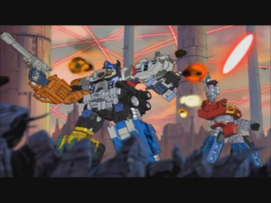 Optimus and Wing Dagger (Ep. 21)