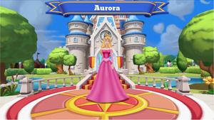 Princess Aurora welcome Disney Magic Kingdoms