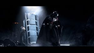 Darth Vader furious