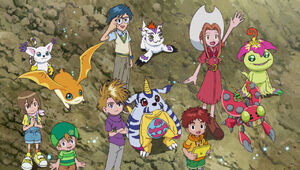 Ep 40 - DigiDestinds and Digimons look at sky