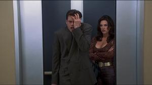 Fletcher insulting Girl in Elevator