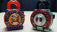 Heisei Rider Lockseed and Showa Rider Lockseed