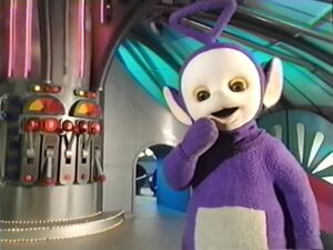 Tinky Winky - Uh Oh - Saw Mess in the Tubby Custard