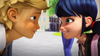 Animan - Adrien and Marinette