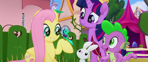 Fluttershy sings you got this to a bird MLPTM