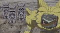 Golemon with three Gotsumon (Episode 37)