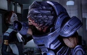 Grunt vs. Shepard