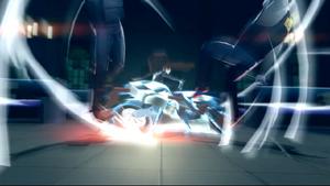 Makoto riding Johanna