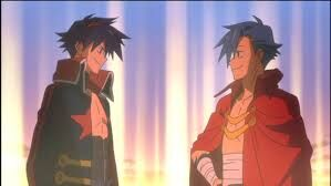 Simon and Kamina 3