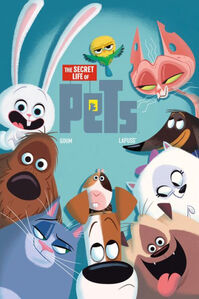 The Secret Life Of Pets Comic Book