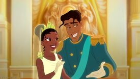 Tiana and Naveen married
