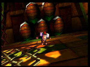 Donkey Kong 64 chunky drunk and dizzy