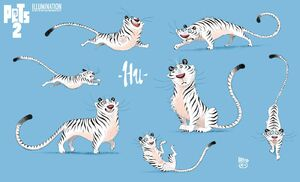 Hu - The Secret Life of Pets 2 concept art 2