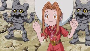 Mimi and two Gotsumon