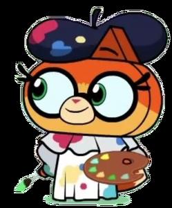 Dr. Fox (Uniktty!) as Painter