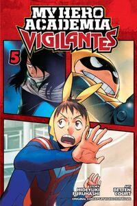 My Hero Academia Vigilantes Manga Volume 5 Cover