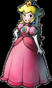 Princess Peach in Mario & Luigi Superstar Saga