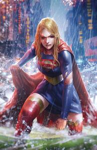 Supergirl Vol 7 39 Textless Variant
