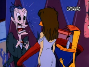 DUCKMAN ON CARTOON NETWORK SPAIN 8