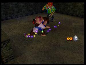 Donkey Kong 64 Chunky VS Toy Monster