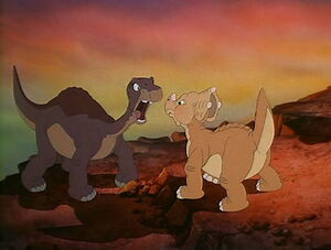 Littlefoot Cera arguement