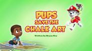Pups Save the Chalk Art (HQ)
