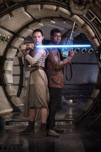 Rey and Finn TFA