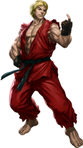 Street Fighter - Ken Masters as he appears in Street Fighter III Third Strike Online Edition