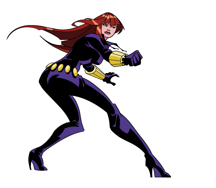 Black Widow (The Avengers: Earth's Mightiest Heroes)