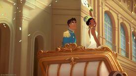 Congratulations, Tiana and Naveen!