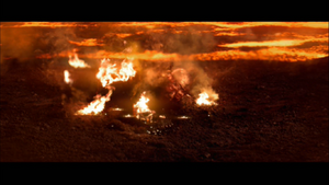 Darth Vader scorching