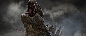 Godzilla 2014 Bleeds