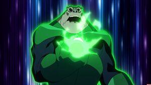 Kilowog in Green Lantern Emerald Knights