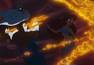 King Triton destroying Ariel's treasures (1)